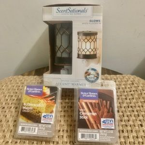 Bronze Lantern Plug Wax Warmer + 2 Bonus Waxes!